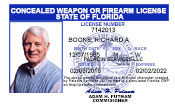 Florida Concealed Weapons Permit (Florida CWP).
